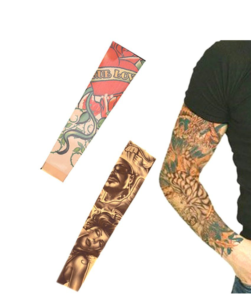 Dlt Wearable Arm Tattoo Skin Cover Sleeves For Style Ideas And Designs