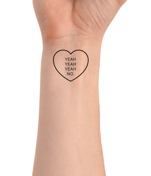 The 1975 Lyric Tattoo Tumblr Ideas And Designs