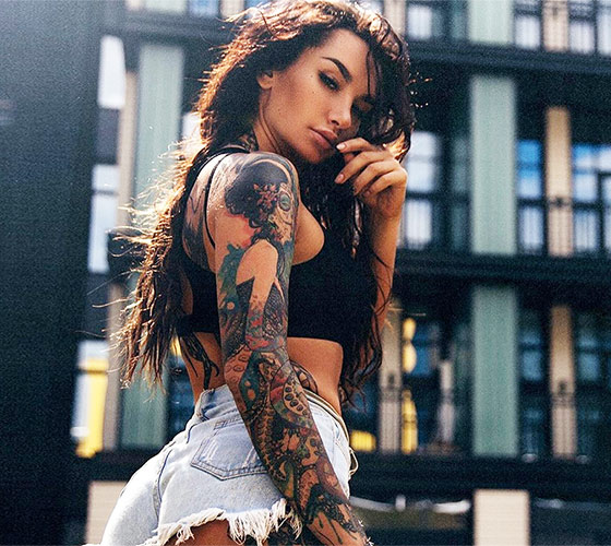 Angelica Anderson Tattoo Model World Tattoo Gallery Ideas And Designs