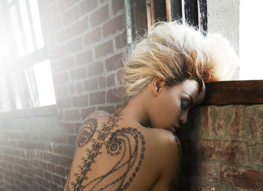 Celeb Temporary Ink Beyonce For Dereon Tattoos Ideas And Designs