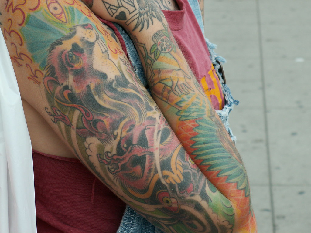 Tattooed Arm 3 Mystical Arm Guinea Pig The Tattoos On Ideas And Designs