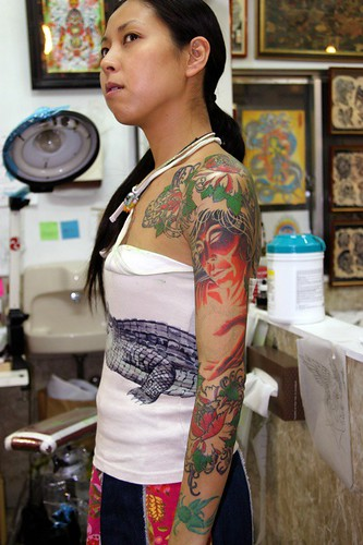 Full Coverage Osaka Adrian Lee Tattoo By Adrian Lee Ideas And Designs