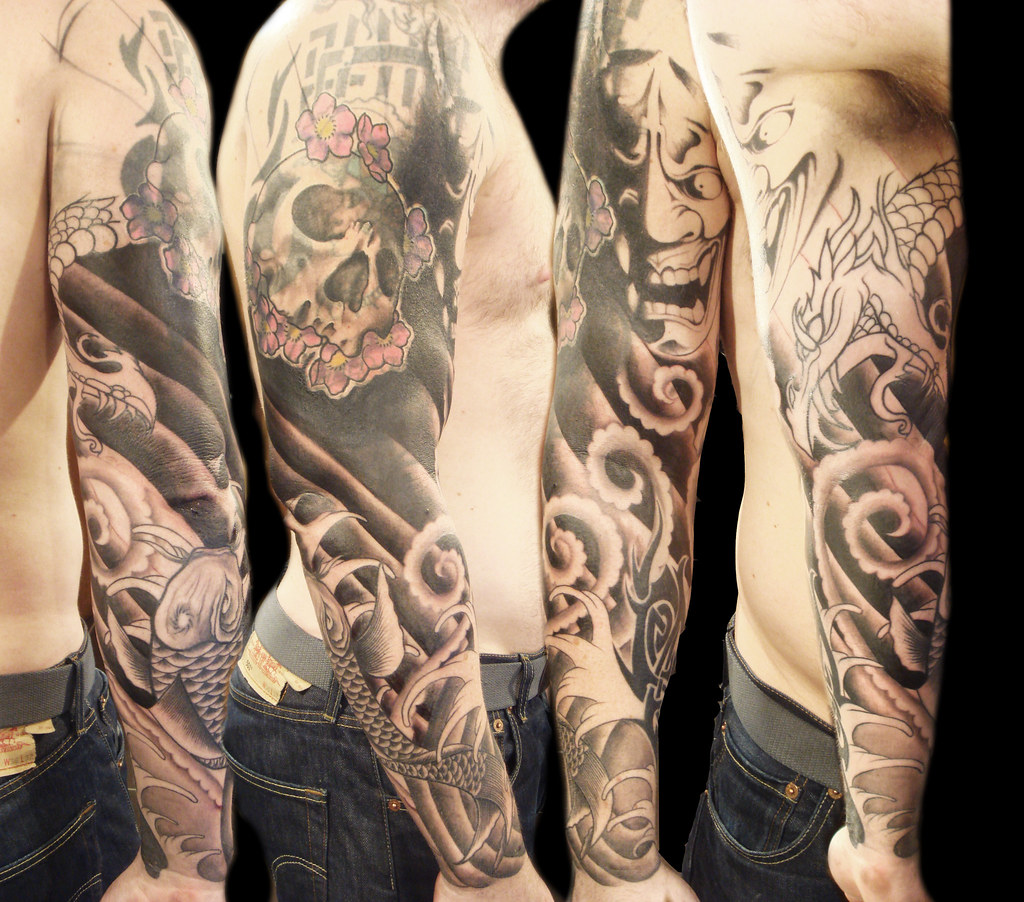 Massive Cover Up 2Nd Stage Miguel Angel Custom Tattoo Ideas And Designs