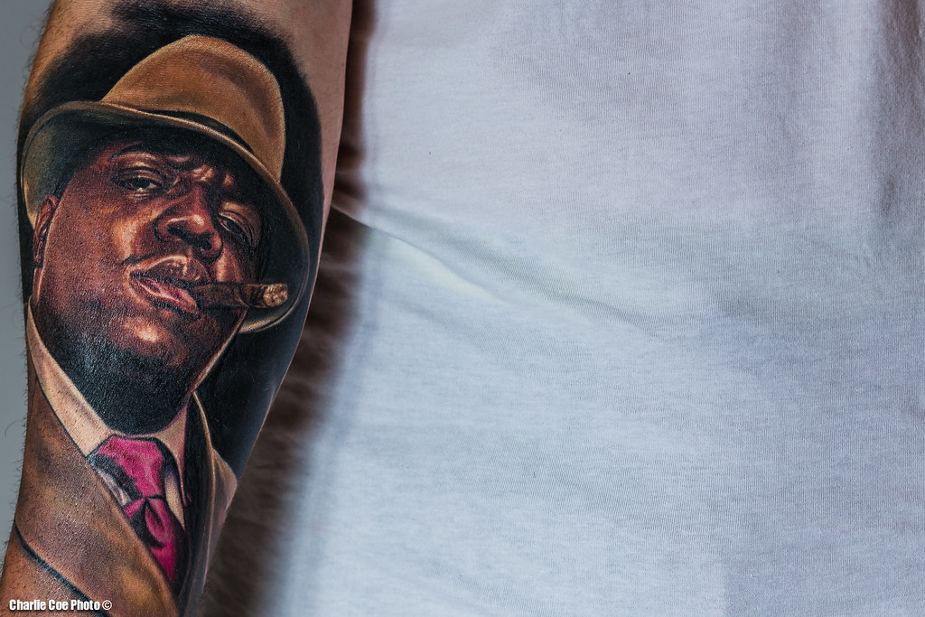 Biggie Smalls Tattoo This Is A Friends Tattoo Of The Ideas And Designs