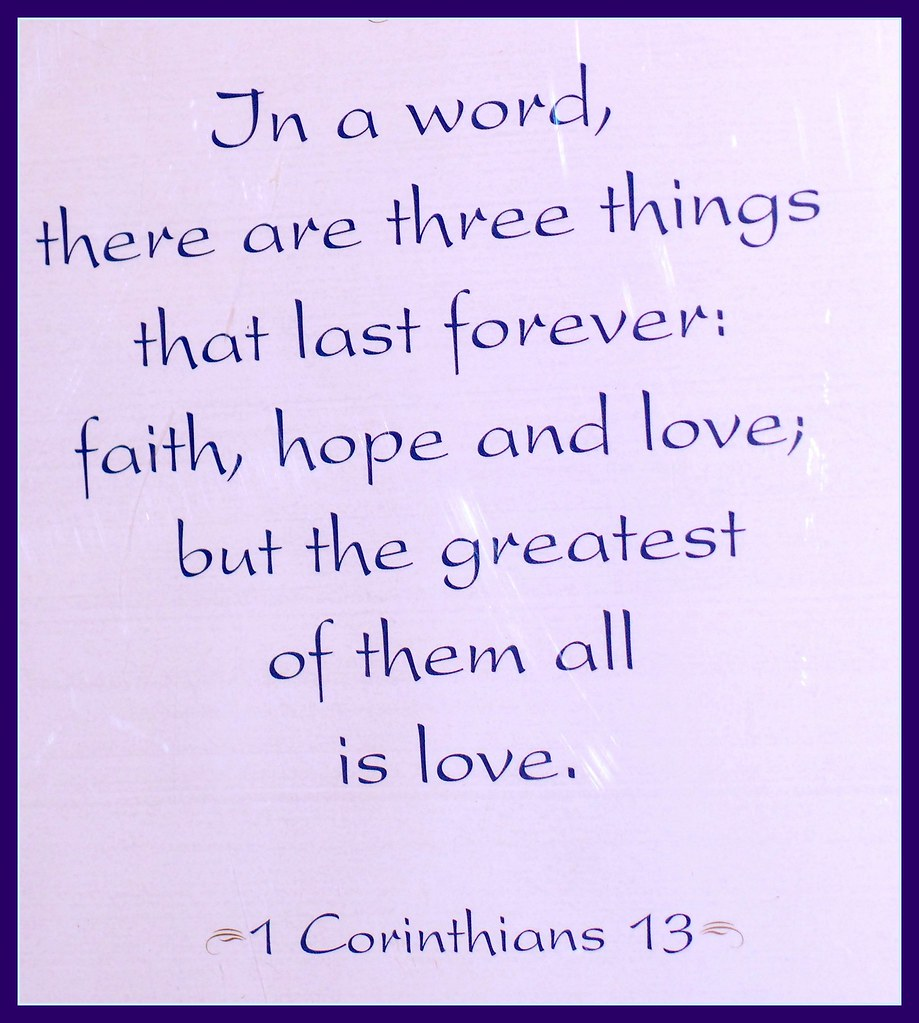 1 Corinthians 13 4 13 2 Hanging On My Basement S Ideas And Designs