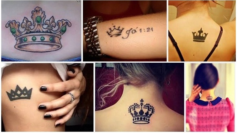 15 Unique Crown Tattoo Designs To Embrace Royalty Styles Ideas And Designs