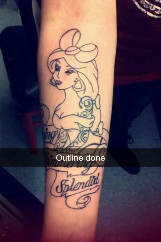 Princess Jasmine Princess Jasmine Tattoo And Jasmine Ideas And Designs