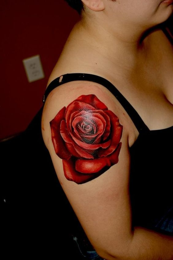 Rose Tattoos 3D Rose Tattoo And Rose Tattoo Shoulder On Ideas And Designs