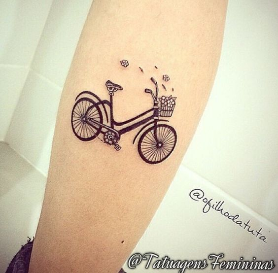 1000 Ideas About Bike Tattoos On Pinterest Bicycle Ideas And Designs