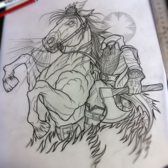 Headless Horseman Dave Olteanu Tattooer At Str In Ideas And Designs