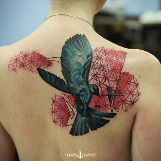 Back Pieces Bird Tattoos And Birds On Pinterest Ideas And Designs