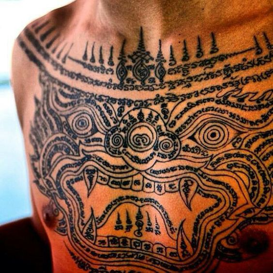 Protection Khmer Tattoo Tattoo S Pinterest Khmer Ideas And Designs