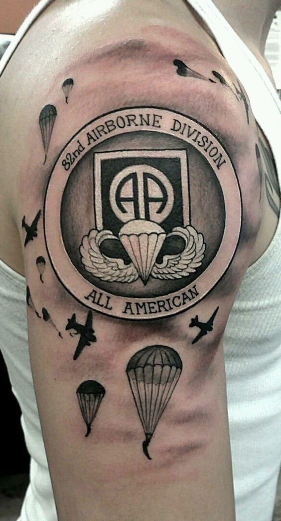 Kick *Ss 82Nd Tattoo Paratroopers Pinterest Ideas And Designs