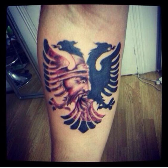Double Headed Albanian Eagle Tattoo Sick Shqiponja Ideas And Designs