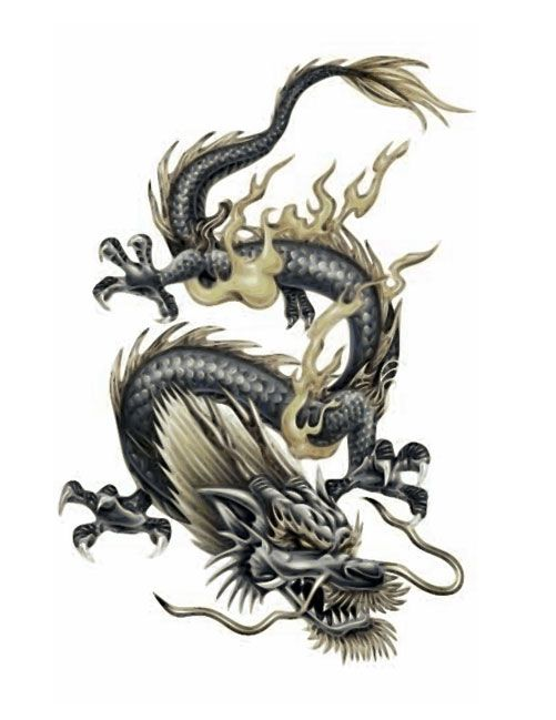 3D Chinese Dragon Tattoo Free Tattoo Design Ideas Ideas And Designs