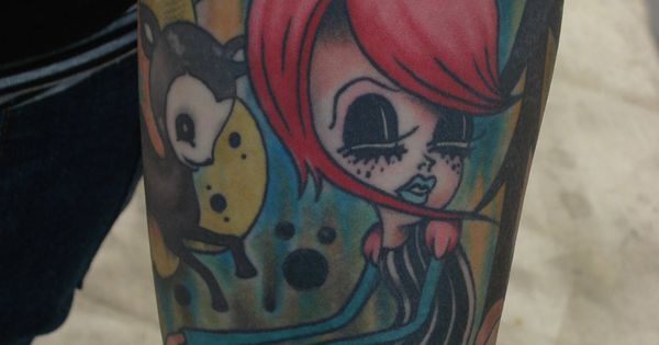 Camille Rose Garcia Tattoo Diggin The Ink Pinterest Ideas And Designs