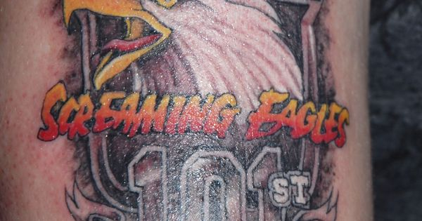 Screaming Eagles Tattoos By Joe Byron Pinterest More Ideas And Designs