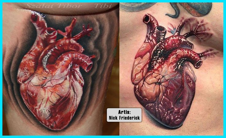 Click Here To See More Videos Related Tattoos Of Hearts 3D Ideas And Designs