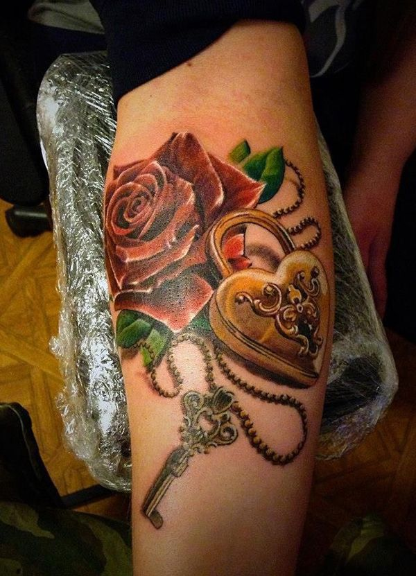 17 Best Ideas About Lock Key Tattoos On Pinterest Lace Ideas And Designs