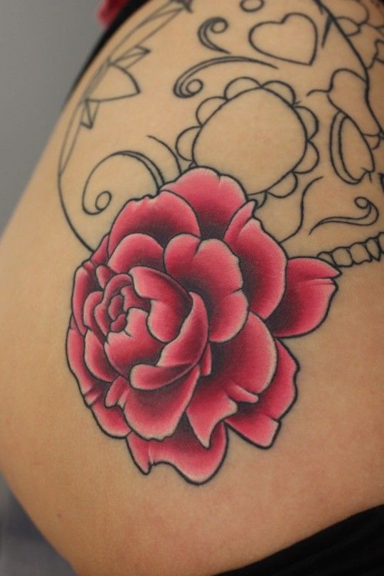 25 Best Ideas About 3D Flower Tattoos On Pinterest Ideas And Designs