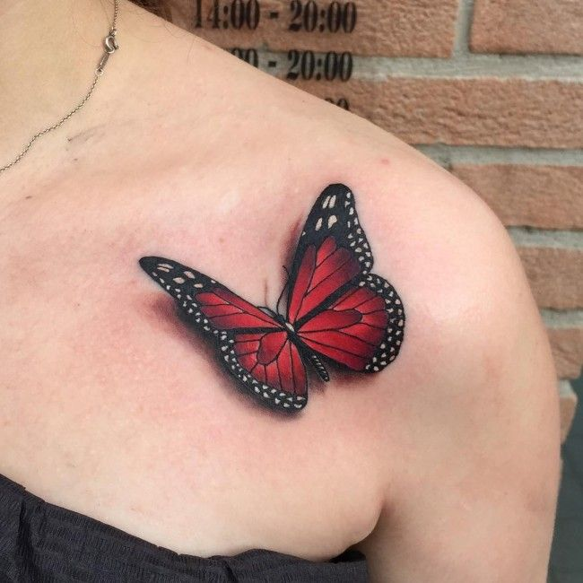 Best 25 3D Butterfly Tattoo Ideas On Pinterest Ideas And Designs