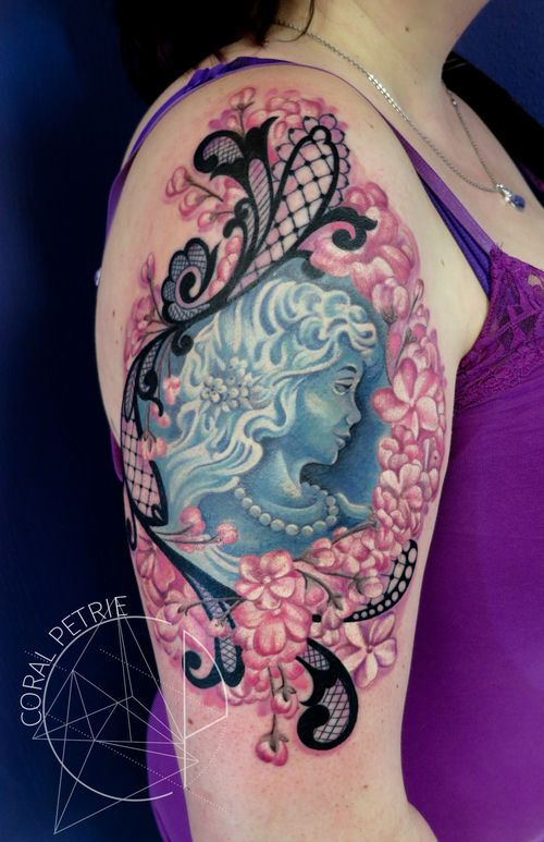 Best 20 Cameo Tattoo Ideas On Pinterest Frame Tattoos Ideas And Designs