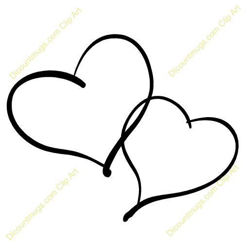 Double Heart Tattoos For Women Hearts Intertwined Ideas And Designs