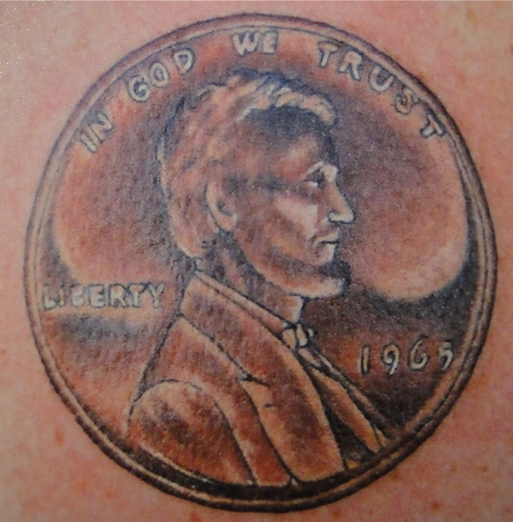 1000 Images About Coin Currency Tattoos On Pinterest Ideas And Designs