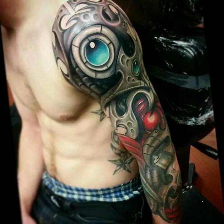 17 Best Images About Biomechanical Tattoo Design On Ideas And Designs