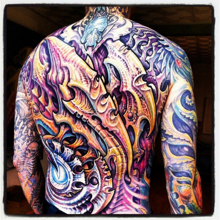 64 Best Images About Bio Organic Mechanical Tattoos On Ideas And Designs