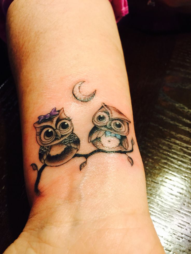 My New Owl Tattoo Love It Owls Pinterest Owl And Ideas And Designs
