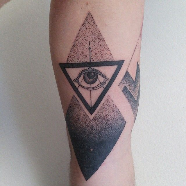 25 Best Triangle Tattoo Meanings Ideas On Pinterest Ideas And Designs