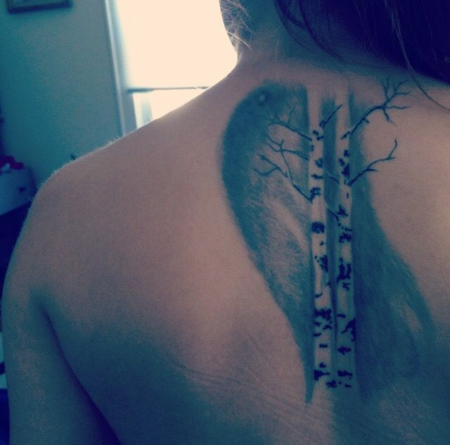 17 Best Ideas About Birch Tree Tattoos On Pinterest Tree Ideas And Designs