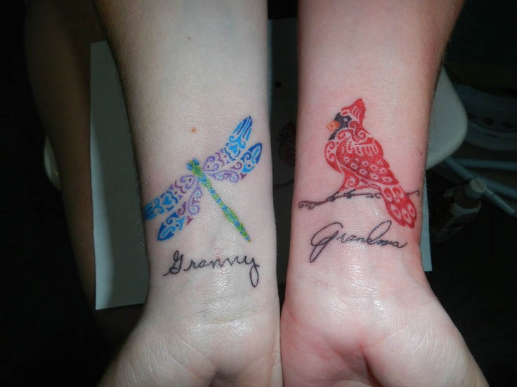 Dragonfly Cardinal Tattoos Tattoo S Pinterest Ideas And Designs