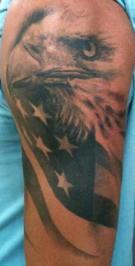 69 Best Images About Patriotic Tattoos On Pinterest Flag Ideas And Designs