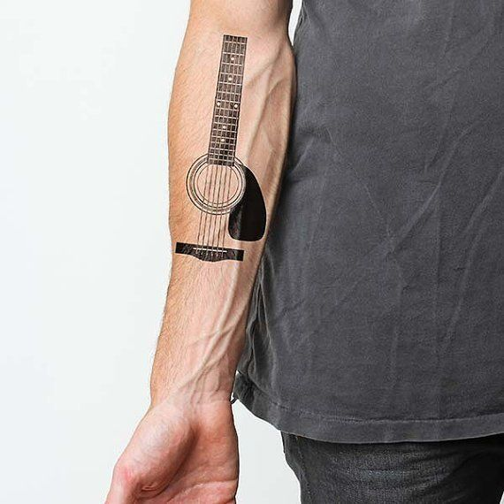 25 Best Ideas About Acoustic Guitar Tattoo On Pinterest Ideas And Designs
