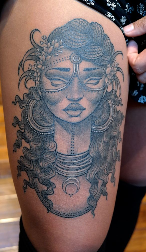 25 Best Ideas About Afro Tattoo On Pinterest Black Girl Ideas And Designs