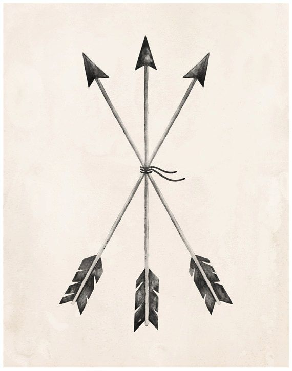 Arrows Art Print 8X10 11X14 Arrow Art Sister Tattoos Ideas And Designs