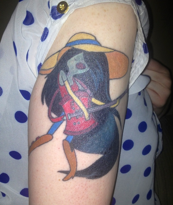 I'm Just Your Tattoo Marceline Adventure Time Ideas And Designs