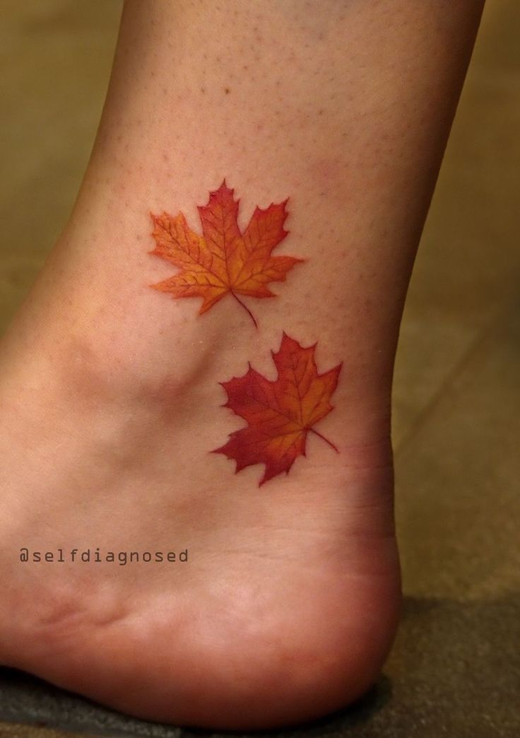 25 Best Ideas About Maple Leaf Tattoos On Pinterest Ideas And Designs
