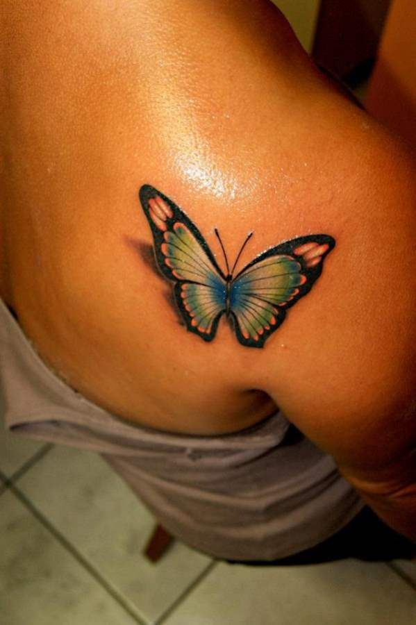 Tattoos For Women 3D Butterfly Tattoos For Women My Ideas And Designs