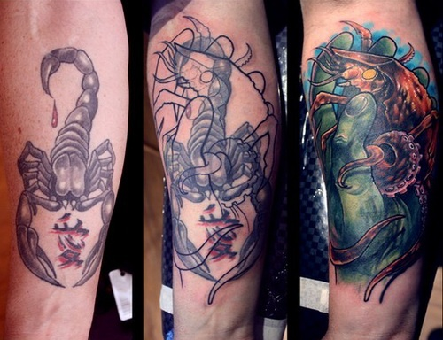 Cover Up Tattoo Before After Tattoo Coverup Ideas Ideas And Designs