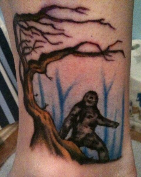17 Best Images About Bigfoot Art And Tats On Pinterest Ideas And Designs