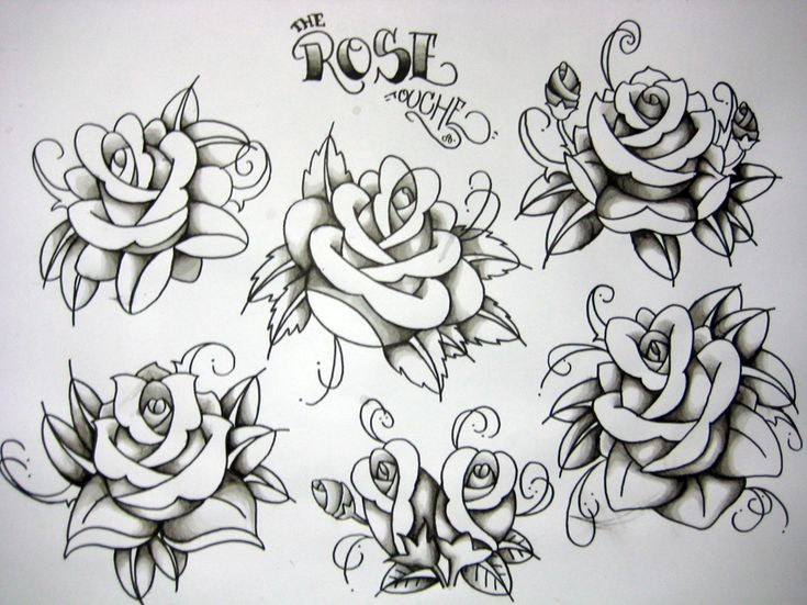1000 Images About Tattoo Old School Roses On Pinterest Ideas And Designs