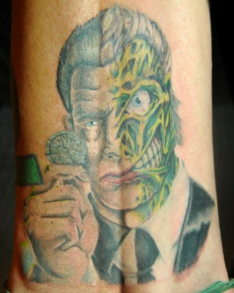 Two Face Tatoo Unique Tattoo S Pinterest Unique Ideas And Designs