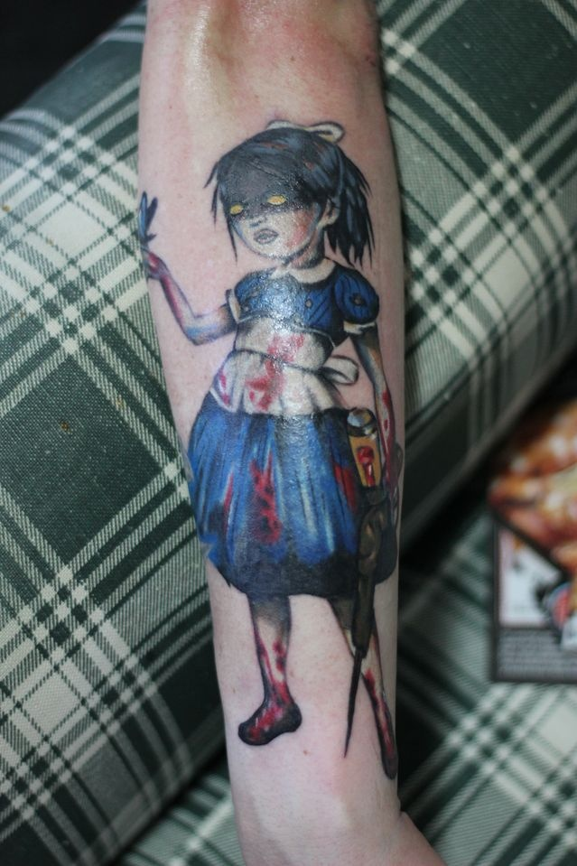 22 Best Images About Bioshock Tattoos On Pinterest Ideas And Designs