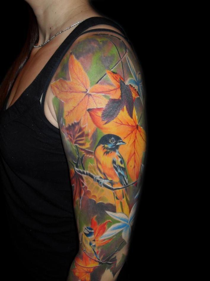Best 25 Bird Tattoo Sleeves Ideas On Pinterest Colorful Ideas And Designs