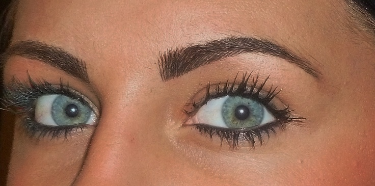 3D Hair Str*K* Brows After Treatment Permanent Makeup Ideas And Designs