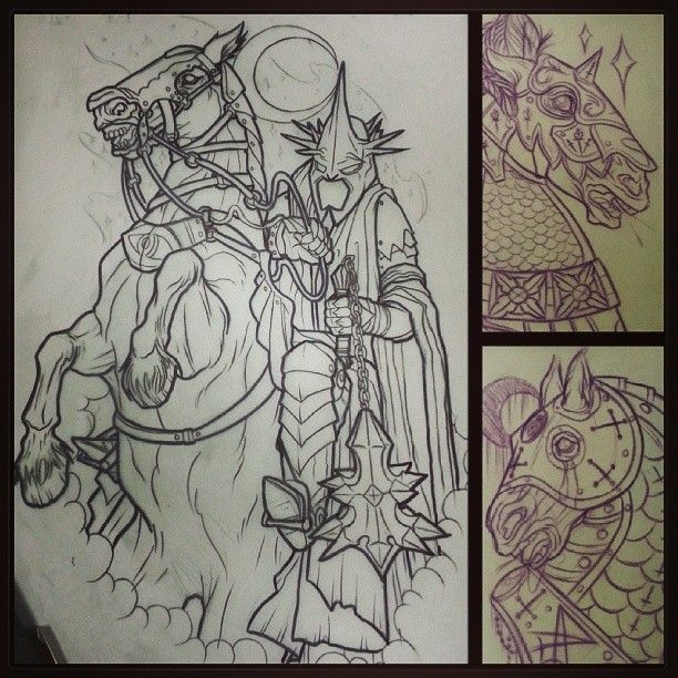 Tattoo Inspirationmaybe The Headless Horseman Ideas And Designs
