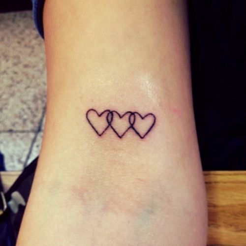 Best 25 Small Heart Tattoos Ideas On Pinterest Ideas And Designs